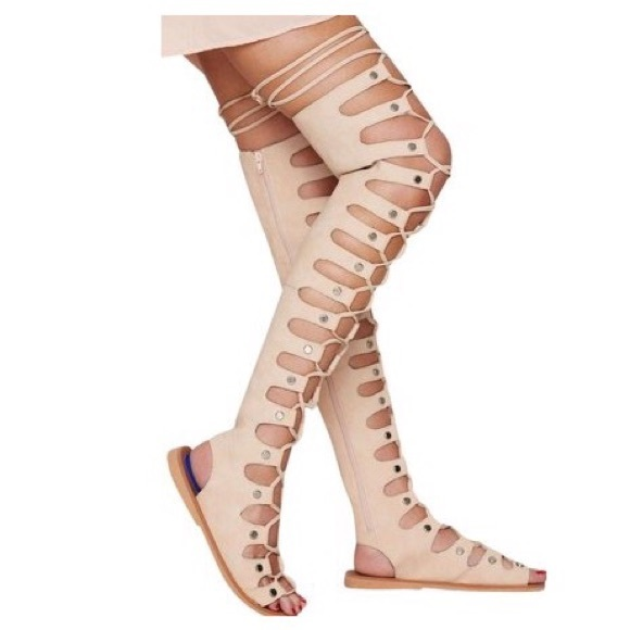 d05078572474 Jeffrey Campbell Olympus Gladiator Sandals...6.5